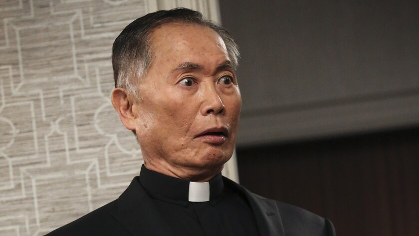 "George Takei in ""Hot in Cleveland"" on TV Land."