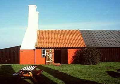 A smokehouse in Hasle, Denmark