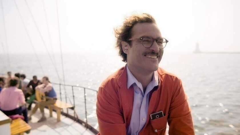 "Joaquin Phoenix in the movie ""Her."""
