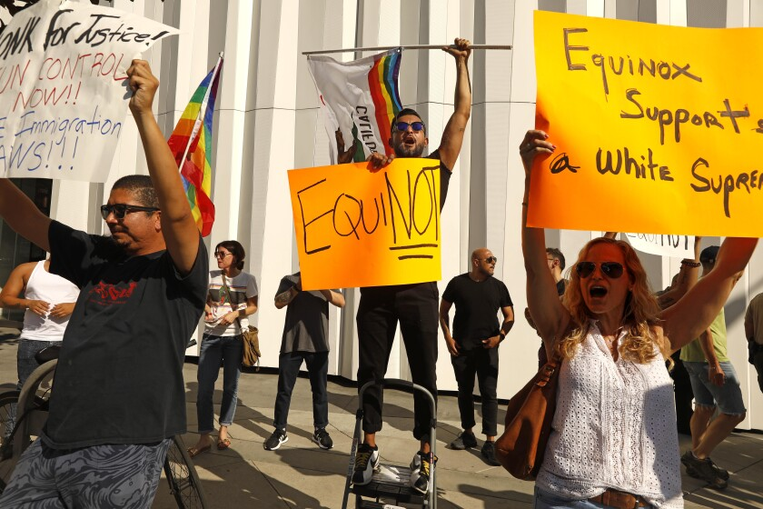 Equinox protest