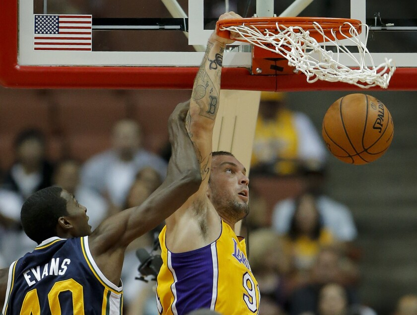 Lakers make roster cuts by waiving Ronnie Aguilar, Reeves Nelson