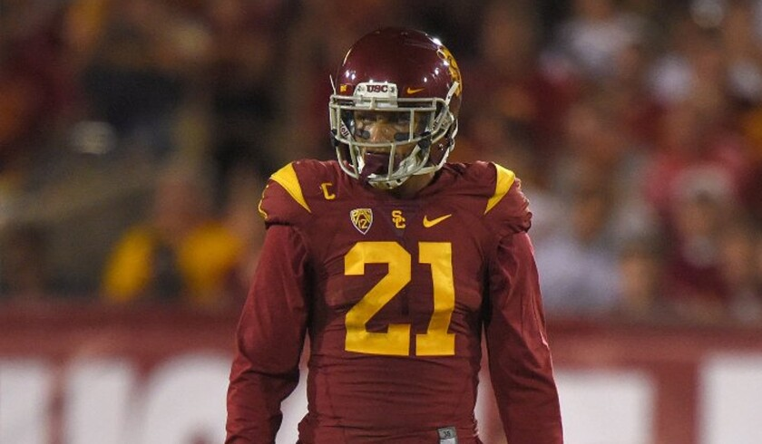 USC linebacker Su'a Cravens has given the Trojans' defense stability and versatility.