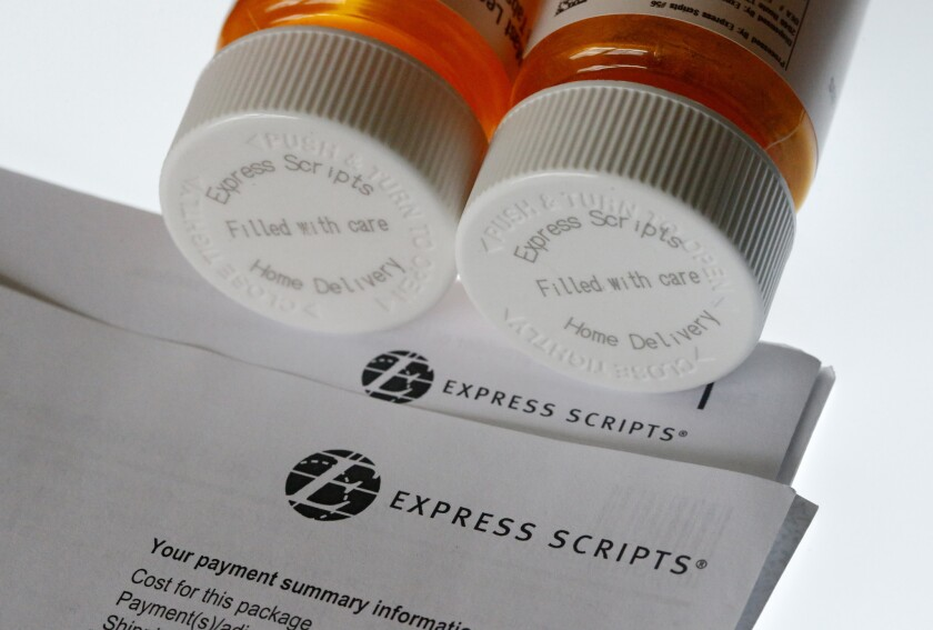 Health insurer Cigna will spend about $52 billion to acquire the pharmacy benefits manager Express Scripts, announced Thursday, March 8, 2018, the latest in a string of proposed buyouts and tie-ups in a rapidly shifting landscape for the health services industry.
