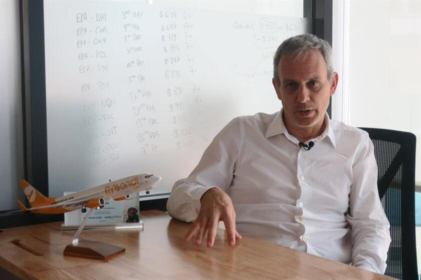 Julian Cook, director ejecutivo de Flybondi. EFE/Archivo
