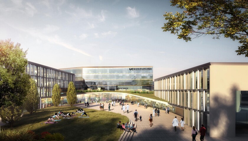 A $200-million donation from Susan and Henry Samueli will fund a new College of Health Sciences building and an integrative medicine initiative.
