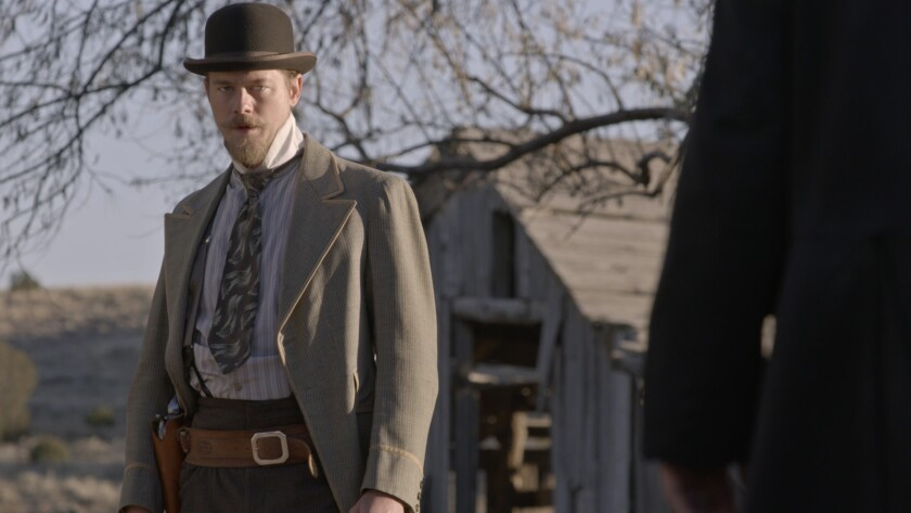 """Cristoph Sanders in the movie """"Big Kill."""""""