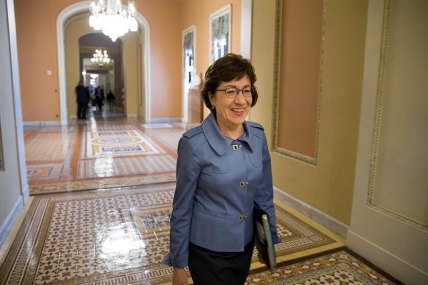 La senadora republicana por Maine Susan Collins. EFE/Archivo