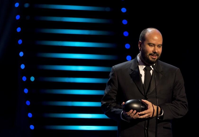 Ciro Guerra at the Premios Fenix