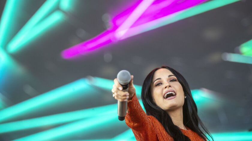 INDIO, CALIF. -- FRIDAY, APRIL 12, 2019: Kacey Musgrove onstage during day one at the Coachella Val