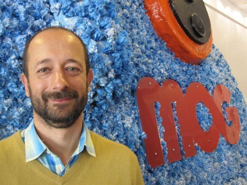 David Hyman, chief executive of MOG music service, at SXSW in 2010.