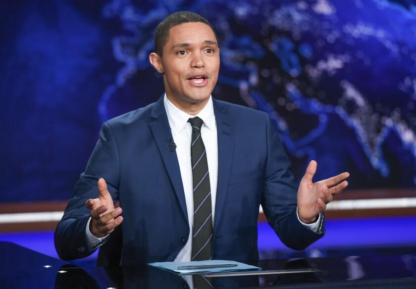"""""""The Daily Show"""" host Trevor Noah."""
