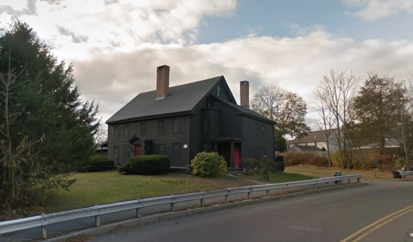 """The home dubbed the """"John Proctor house,"""" on Lowell Street in Peabody, Mass., is believed to have been built by Thorndike Proctor, a son of John Proctor, who was hanged in 1692 after being convicted of witchcraft in the Salem witch trials."""