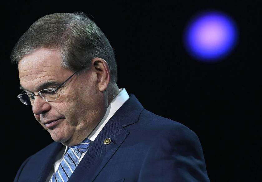 Sen. Robert Menendez (D-N.J.) has denied interfering in the investigation of Dr. Salomon Melgen , but recently acknowledged that he should have repaid Melgen $58,500 for the two plane rides.