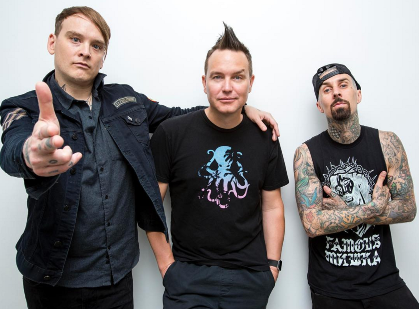 Guitarist-singer Tom DeLonge is shown in happier days with Blink-182. (Sean M. Haffey / Union-Tribune)