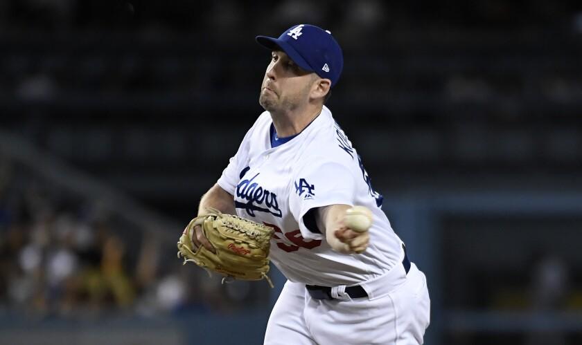 Adam Kolarek shows what he adds to Dodgers' bullpen in win over Rays