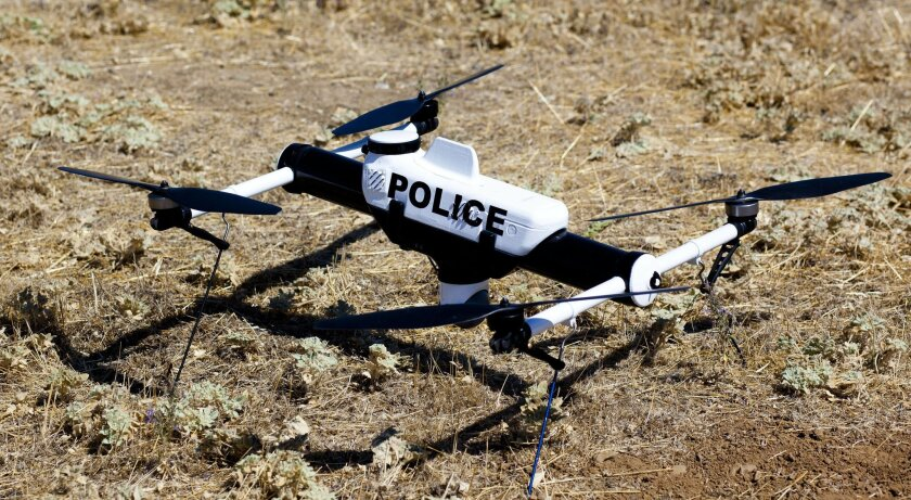 Qube Law Enforcement Unmanned Aircraft System.
