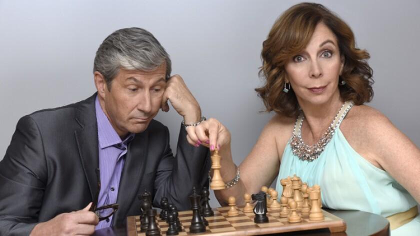 """Rita Rudner and Charles Shaughnessy star in """"Act 3"""" at Laguna Playhouse."""