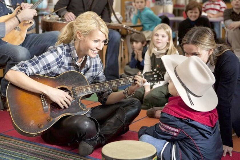 GUITAR MOM: Gwyneth Paltrow learned to strum a guitar as country singer and mom Kelly Canter.