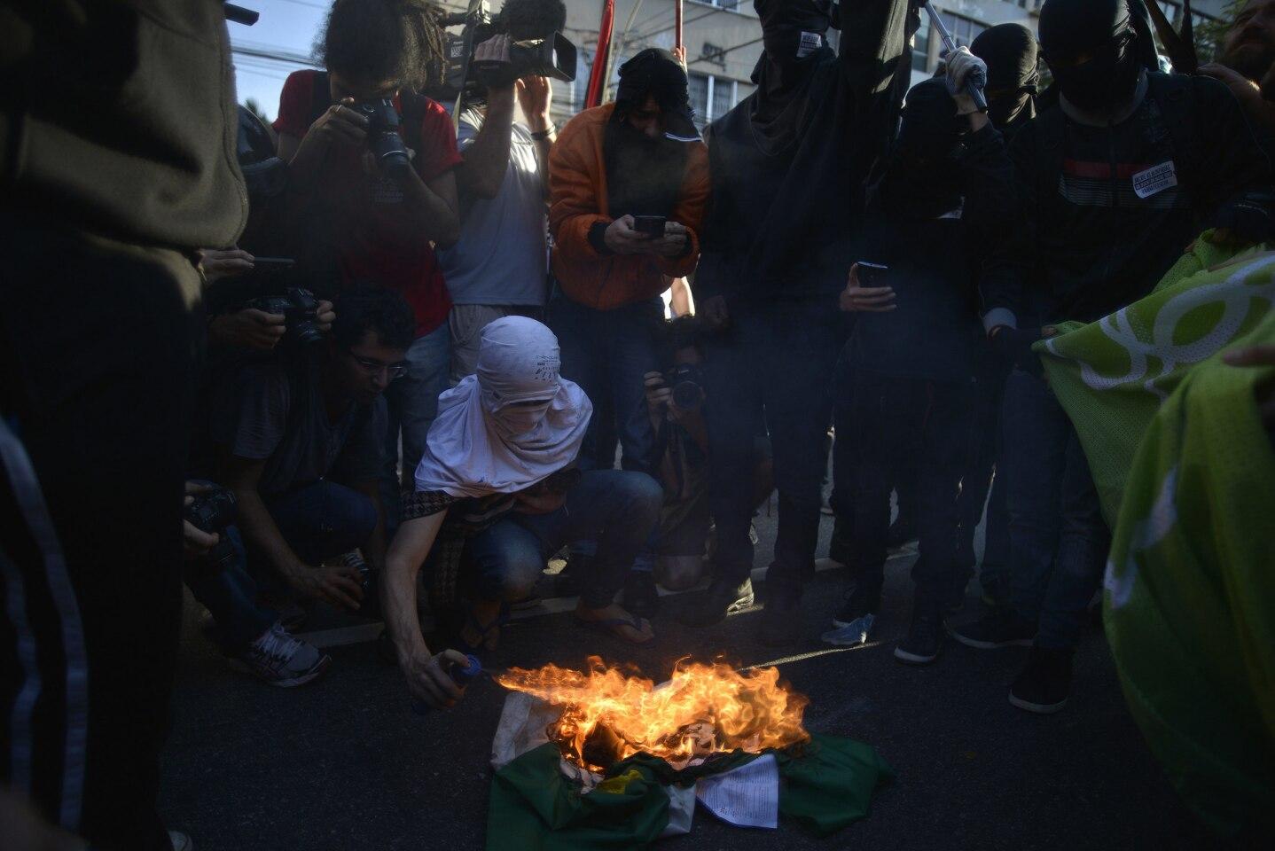Río 2016: Protestas en inauguración