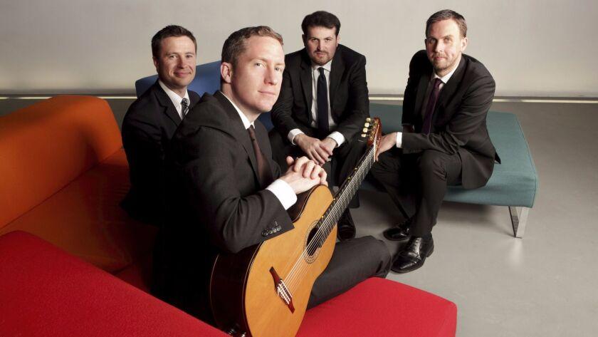 Dublin Guitar Quartet (Chien Buggle, Brian Bolger, Tomas O'Durcain, Patrick Brunnock)