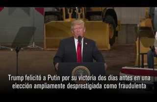 Trump invitó a Putin a la Casa Blanca