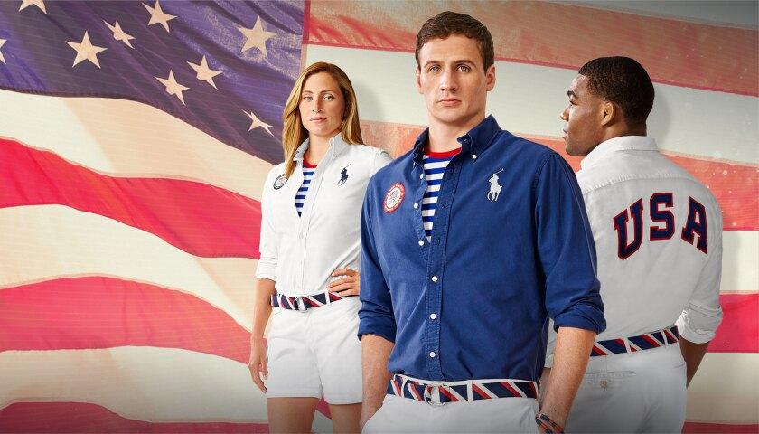 Polo Ralph Lauren Team USA closing ceremony uniforms