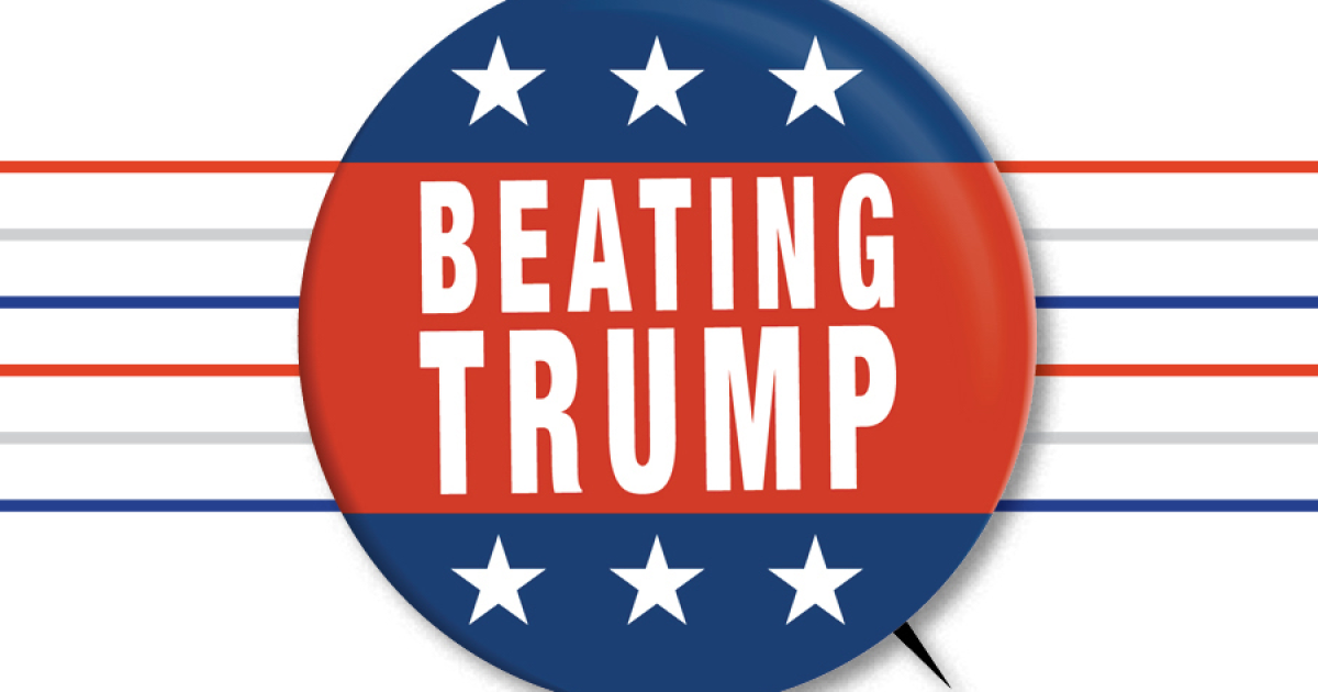 Beating Trump: A L.A. Times editorial series cover image