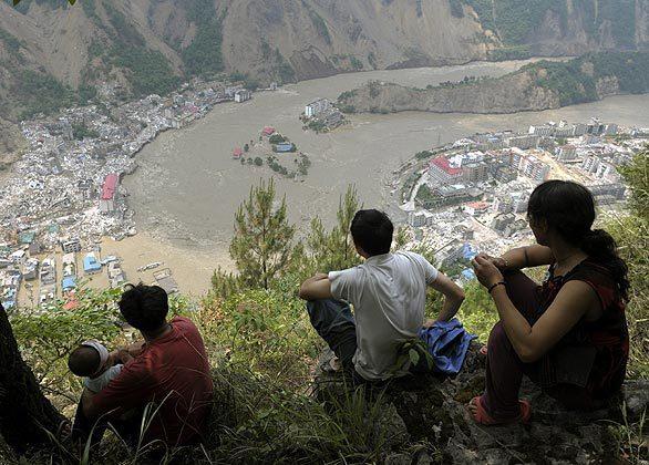 Flood Water, Sichuan, China