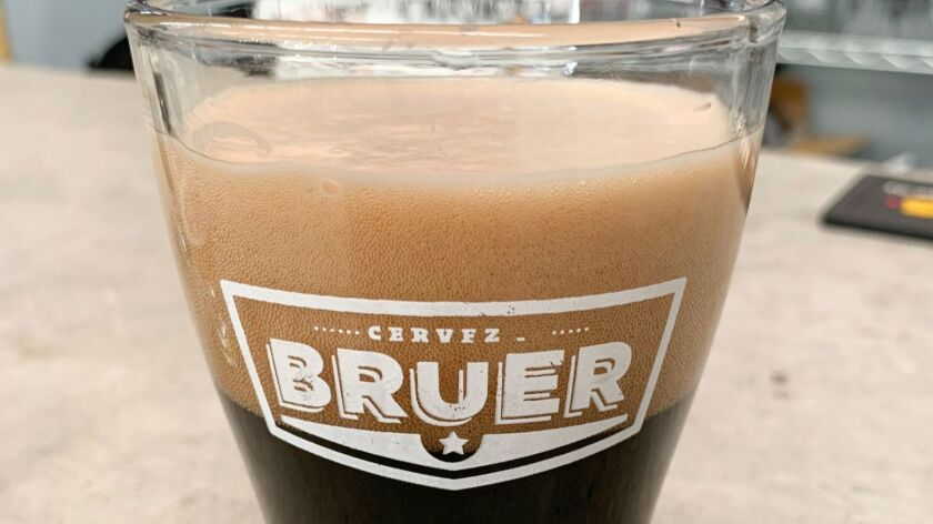One of Bruer's brews.