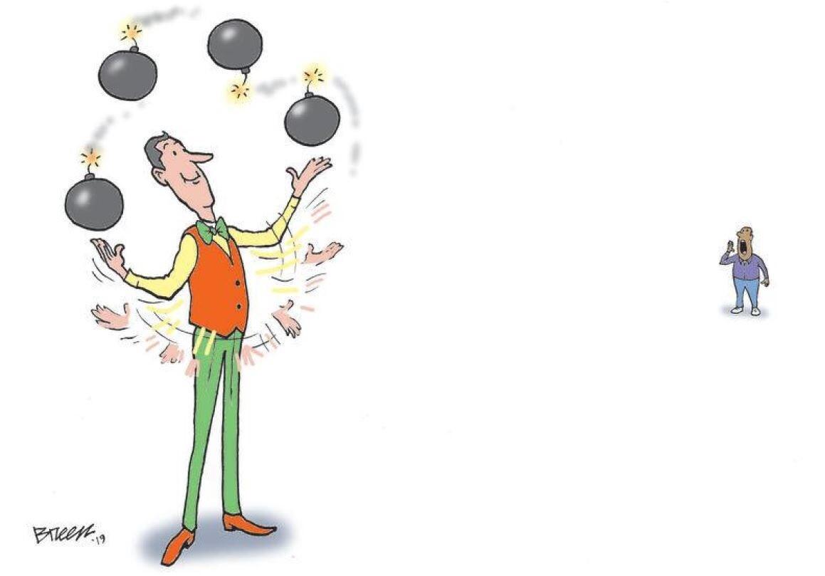 Steve Breen's cartoon caption contest for Jan. 17, 2020
