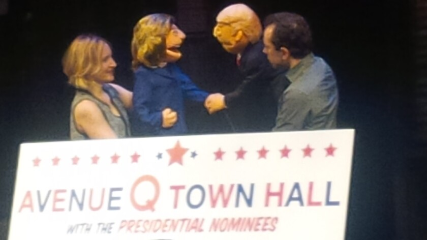 'Avenue Q Town Hall' event