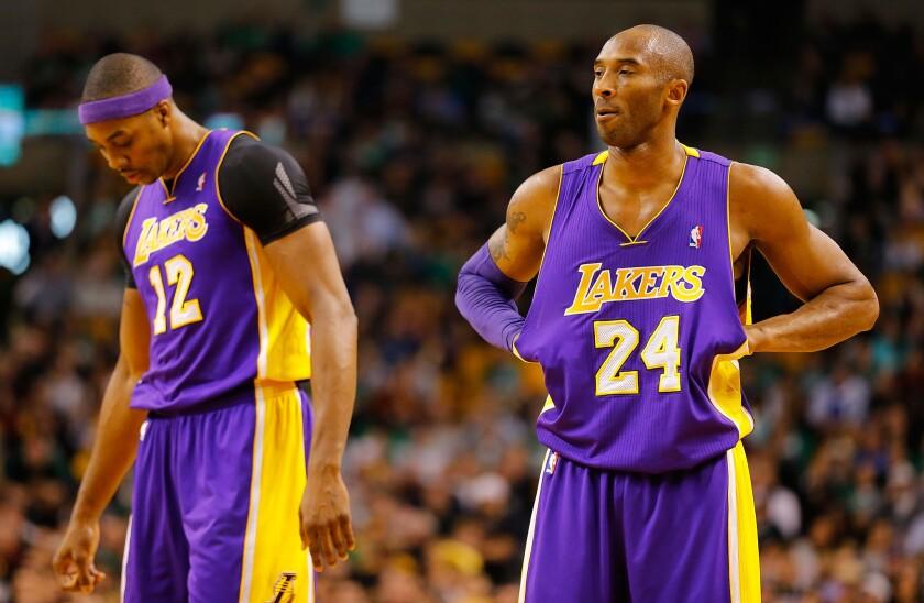 Dwight Howard, Kobe Bryant