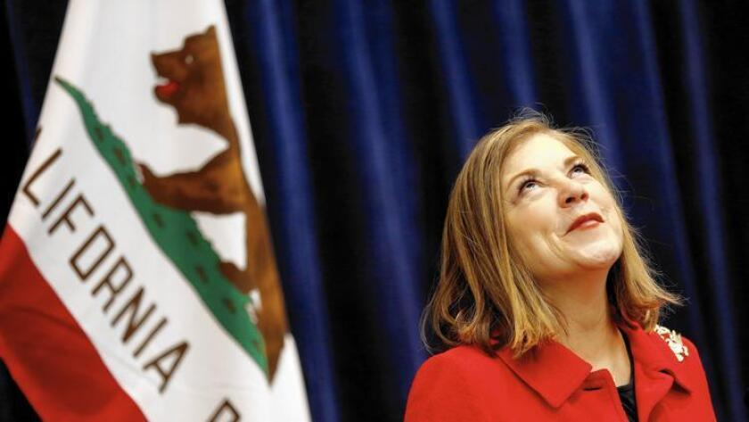 La congresista Loretta Sánchez se encuentra relegada en segunda posición detrás de su rival demócrata Kamala Harris en su candidatura por el Senado de los Estados Unidos.