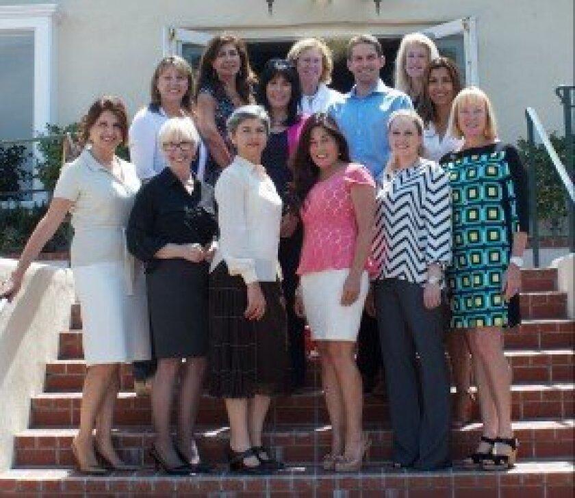 "RSF Rotary Club's ""Taste of Rancho Santa Fe"" 2014 committee."