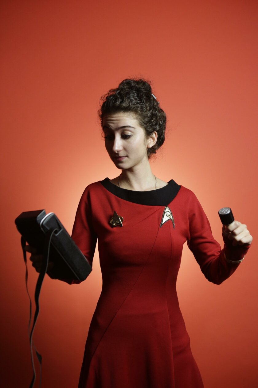 Tatiana Rypinski, a Johns Hopkins student, heads Team Aezon, which is one of seven contestants remaining in the $10 million Qualcomm Tricorder XPrize competition.
