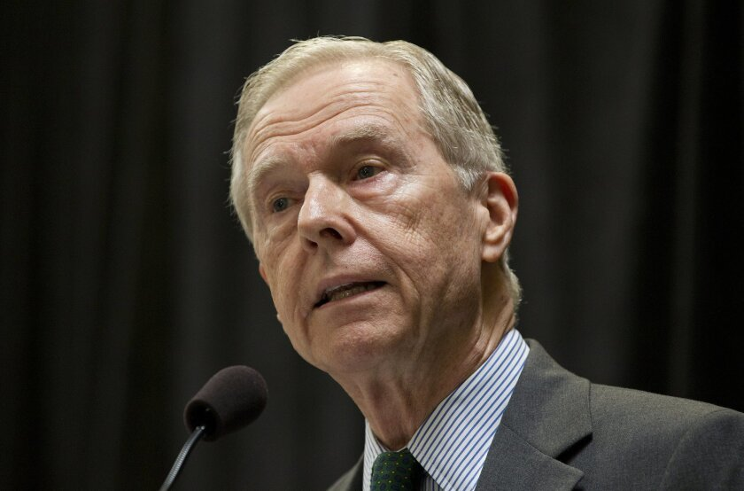 Former Gov. Pete Wilson