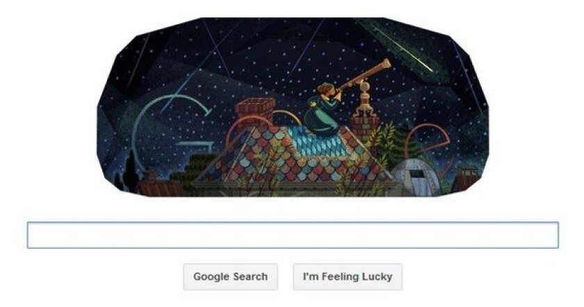 Today's Google Doodle celebrates Maria Mitchell, America's first professional female astronomer. It would be the 195th birthday for Mitchell, who has a comet, an asteroid and a crater on the moon named after her.