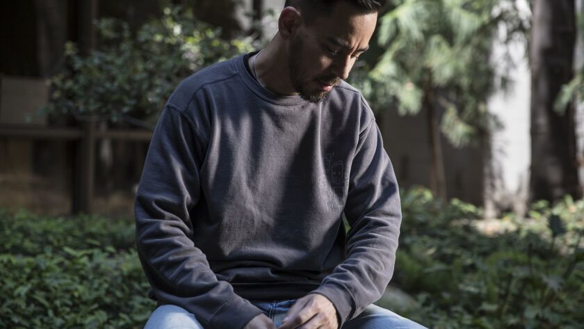 BURBANK, CA, THURSDAY, MAY 31, 2018 - Co-founder of the band Linkin Park, Mike Shinoda is releasing