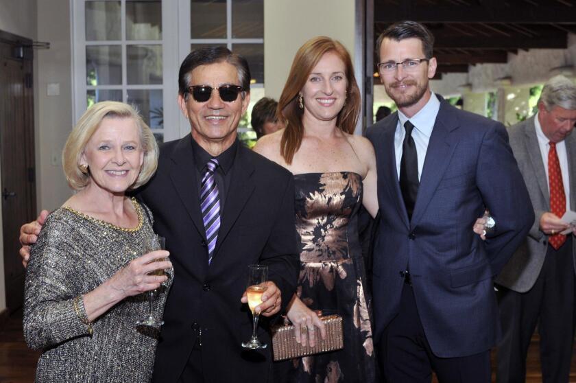 Jane and Michael Fontes, Gina and Scott Maas