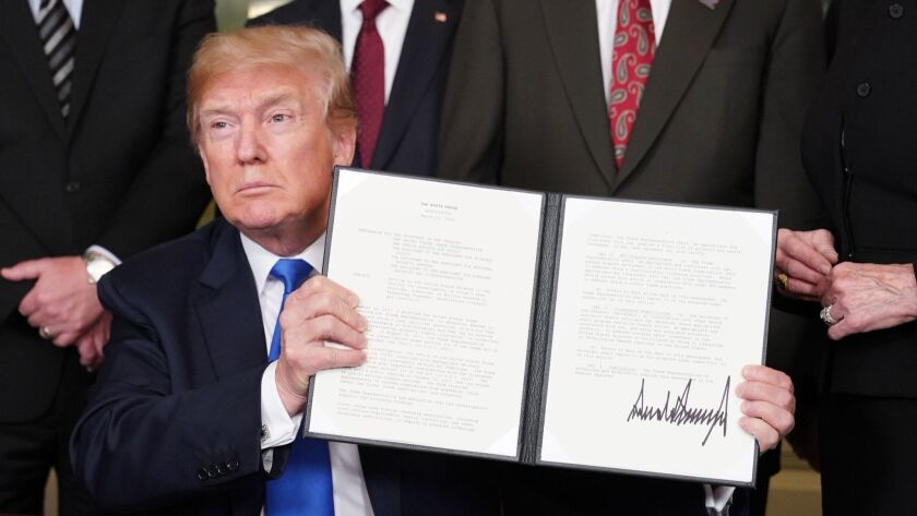 President Trump called for trade sanctions against China on Thursday. Several industries fear retaliation by the Asian nation.