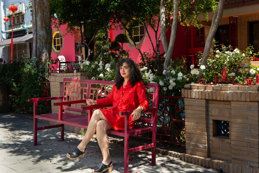Architect Rachel Allen outside her Chinatown office in May