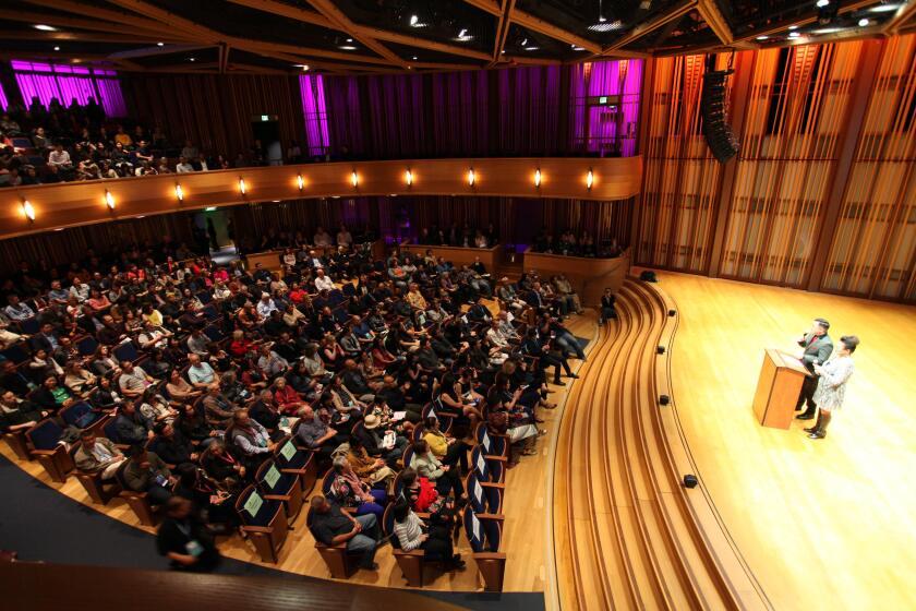 Opening Night 2019 San Diego Asian Film Festival at Conrad Prebys Concert Hall.