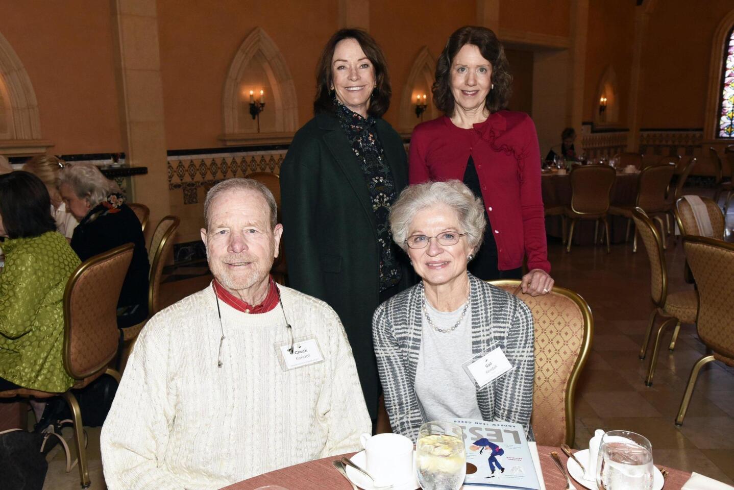 Susan Nettinga, Kathy Henry, Chuck and Gail Kendall (seated)