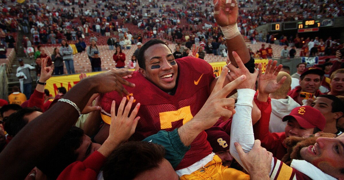 Chad Morton's guarantee against UCLA lives on in USC lore 20 years later