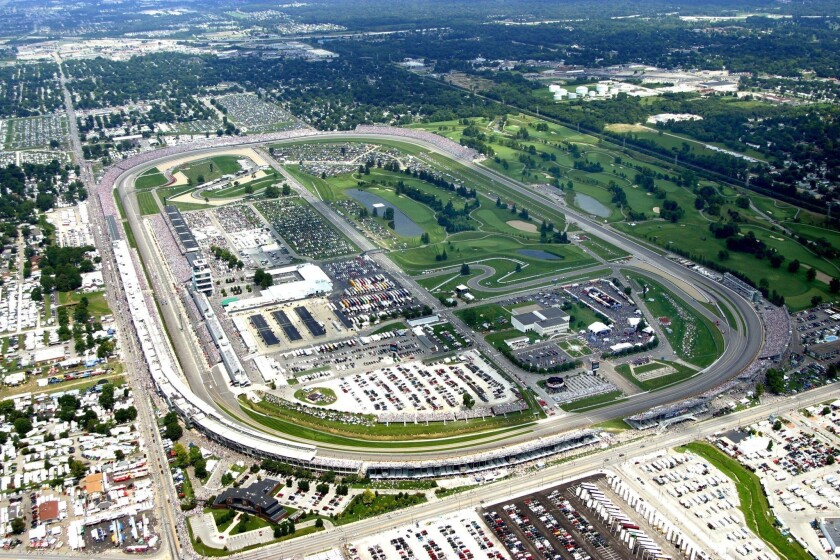 Road-course race set for Indianapolis Motor Speedway in May