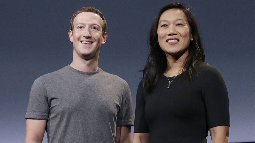 Facebook CEO Mark Zuckerberg operates a multibillion-dollar charity with his wife, Priscilla Chan.