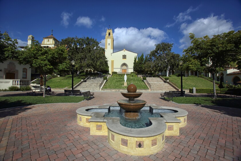 The Chalon campus of Mount St. Mary's University, one of its two L.A. campuses, is in Brentwood.