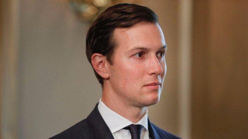 Jared Kushner in the White House on Aug. 11.