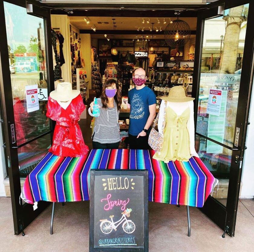 Urban Girl Accessories in Pacific Highlands Ranch was open in time for Mother's Day.