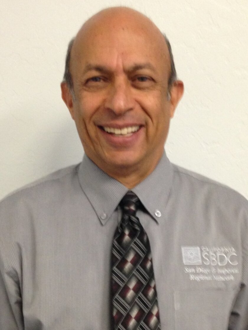 Sudershan Shaunak, director of the Small Business Development Center at MiraCosta College.